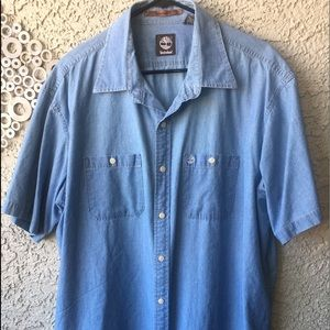 Timberland XL XT Men's Denim Shirt